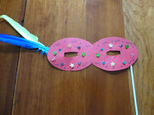 make believe mask craft