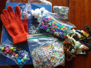 monster madness puppet craft materials