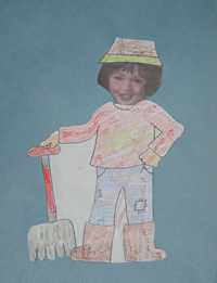 kids farmer craft