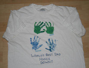 fathers day shirt craft