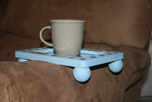 couch coaster craft