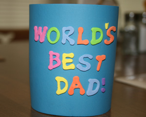 world's best dad craft