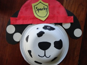 fire safety magnet craft