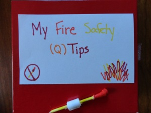 fire safety matchbox craft