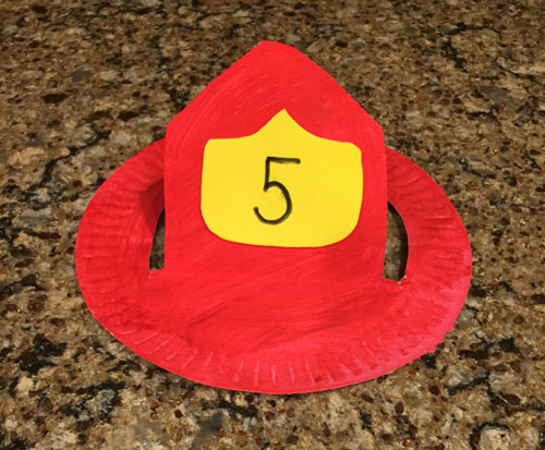 Firefighter hat craft all kids network for Firefighter hat template preschool