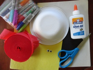 fire safety magnet craft materials