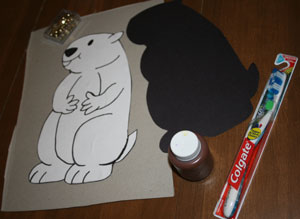 kids groundhog day craft