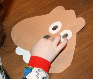 groundhog day craft step 3