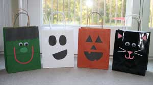 trick or treat bags craft