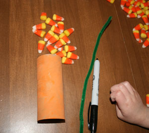 jack-o-lantern craft supplies
