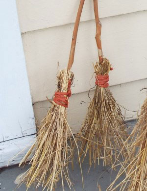 witches broom craft