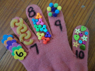 finger counting craft