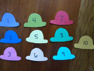 number craft for kids