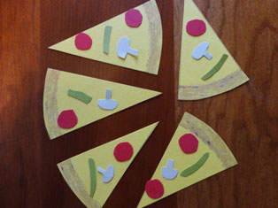 number pizza craft