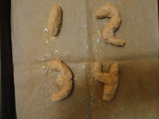 salted number pretzels