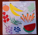 number placemat craft