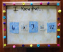 math facts craft