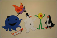 oswald characters crafts