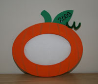 pumpkin frame craft