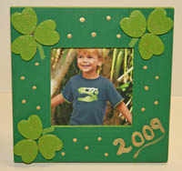 St. Patrick's Day Picture Frame