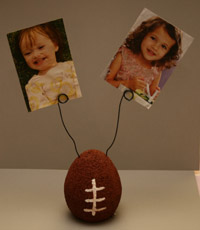 football picture holder craft