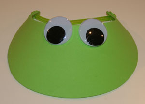 frog hat craft