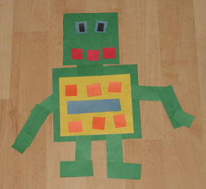 how to make a simple robot for kids