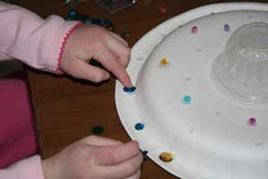toddler spaceship craft
