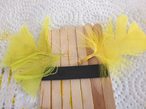 popsicle stick chick craft step 4