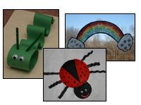kids spring crafts