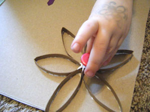 flowers craft for kids