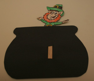 leaping leprechaun craft