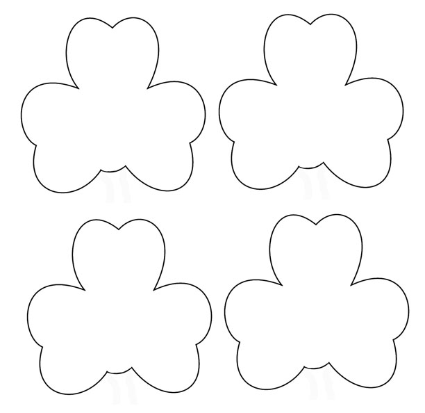 ... Day Crafts - Print your Small Shamrock Template at AllKidsNetwork.com