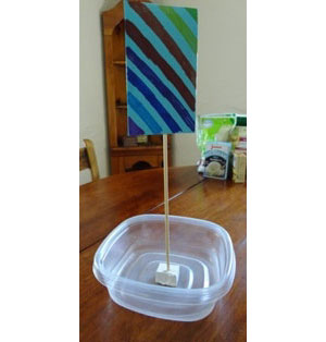 floating boat craft for kids