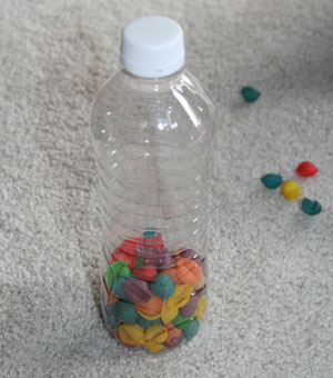 beach shaker bottle craft