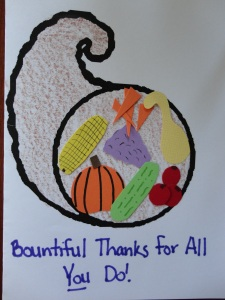 thanksgiving card craft
