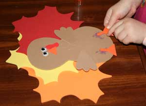 kids thanksgiving craft
