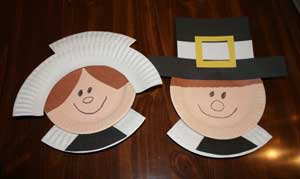 Craft Ideas India on Kids Thanksgiving Crafts Paper Plate Pilgrim Craft