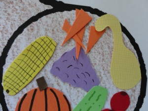kids thanksgiving card craft