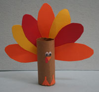 20 Creative Turkeys Made with Toilet Paper Rolls | Guide ...  |Toilet Paper Turkey