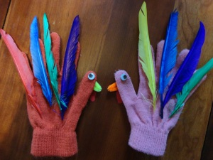 turkey hand puppet craft