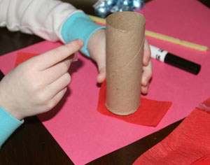 dynamite valentine craft for kids
