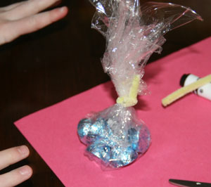 dynamite valentine craft candy