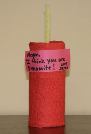 dynamite valentine craft