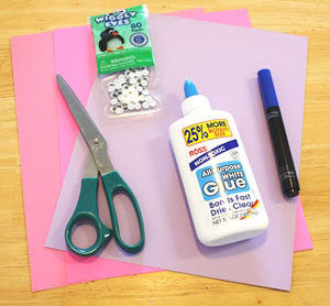 elephant valentine craft materials