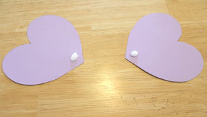 elephant valentine craft - make ears