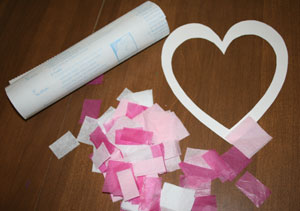 valentines day craft supplies