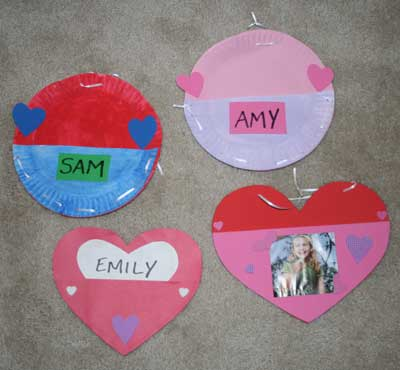 valentine holder craft