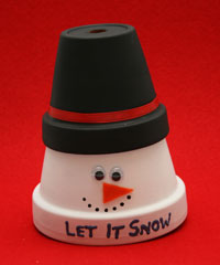 winter snowman craft