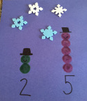 dot snowmen craft